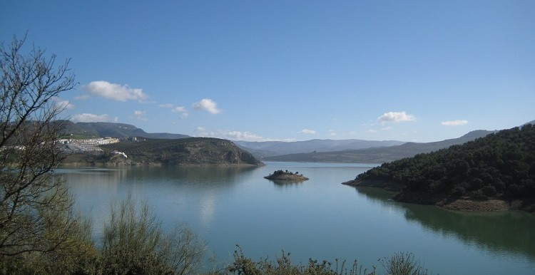 Lake Iznajar - Winter Andalucian Sun