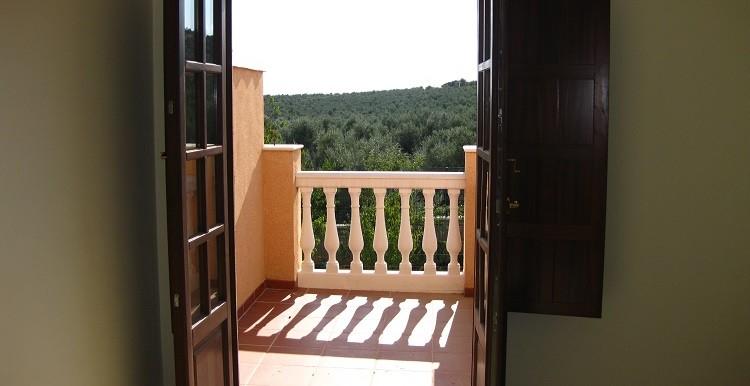 Puerta dormitorio a una terraza