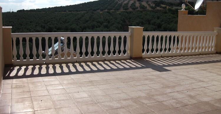 terraza alta casa A